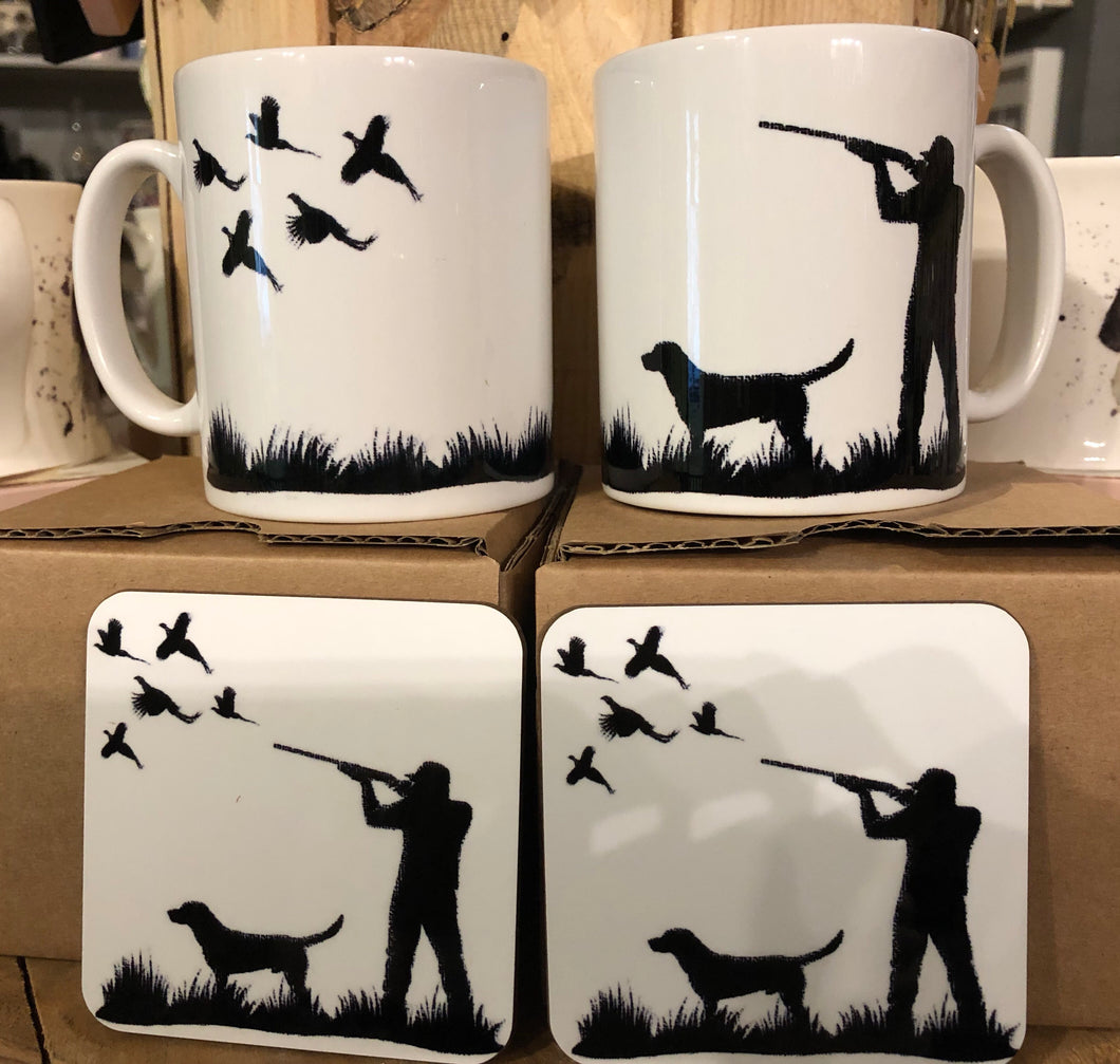 Pheasant shooting mug male or female
