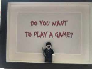 Jigsaw Saw inspired mini figure picture