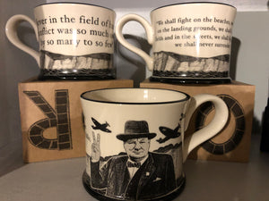 Winston Churchill Quote Boxed Mug