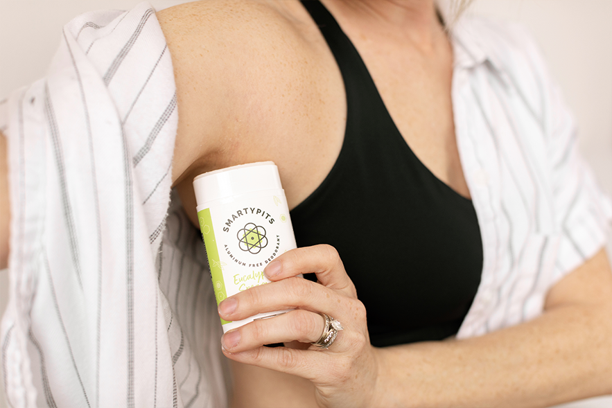 <b>SmartyTips</b><br>Natural Deodorant Rashes