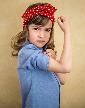 Rosie the Riveter lives on in the spirit of our girls!