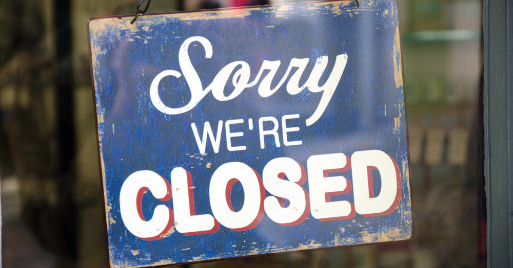 Temporarily Closed Until Friday 31st July
