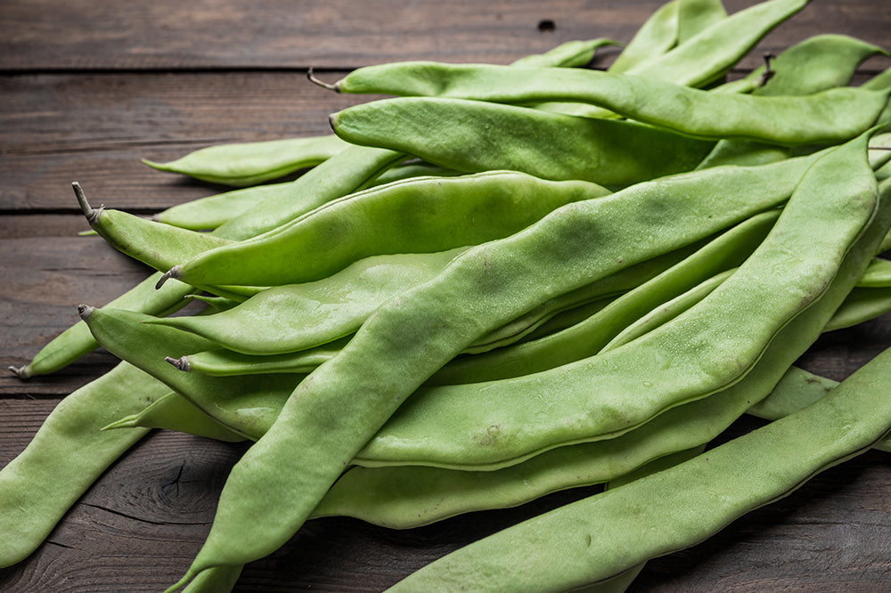 Fresh Green Runner Beans
