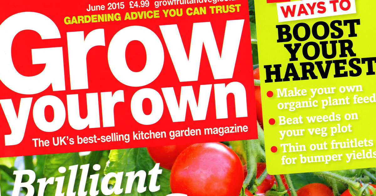 Welcome Grow Your Own Magazine Readers