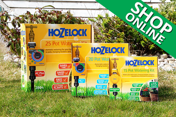 Hozelock Guide To Automatic Watering Easy Garden Irrigation