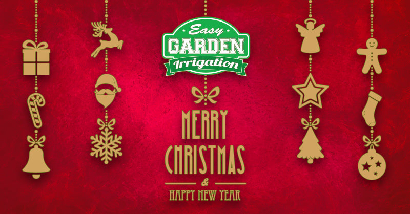 Easy Garden Irrigation wishes you a Merry Christmas