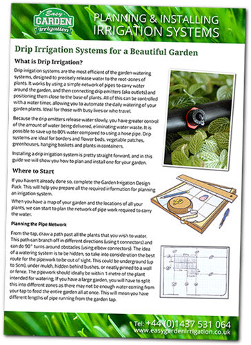 Drip Irrigation Guide