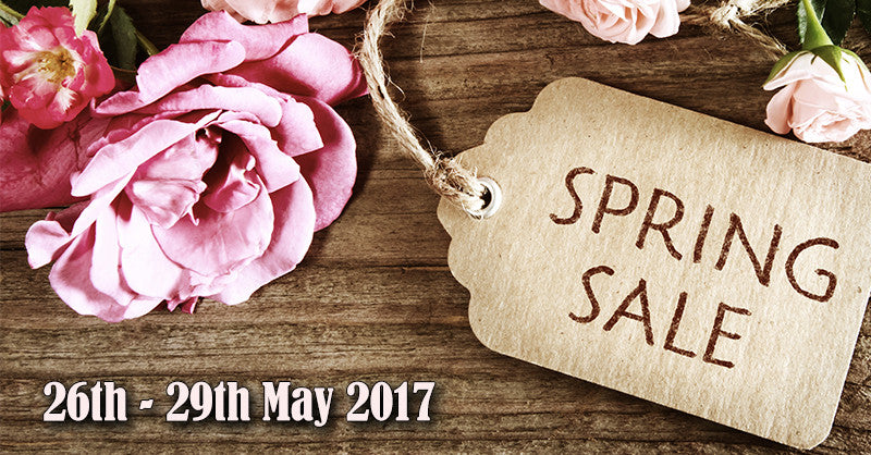 Spring Sale May 2017
