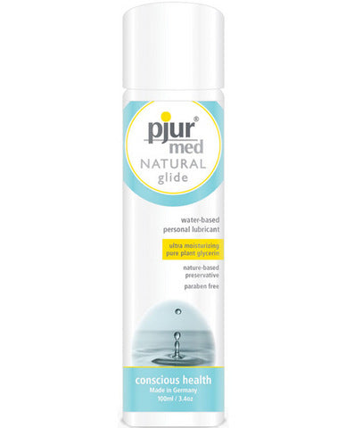 Pjur Med Natural Glide Lubricant 3.4 fluid ounces