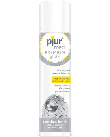 Pjur med premium glide - 3.4 oz bottle