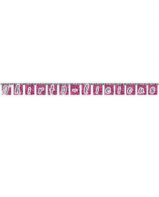 Thirty-licious jointed banner - large