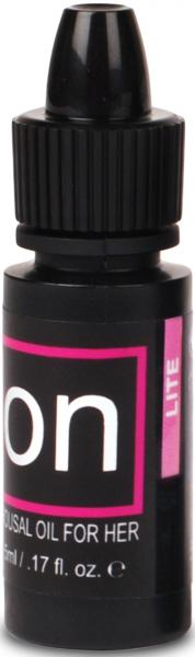 ON Natural Arousal Oil For Her Lite .17oz Bottle