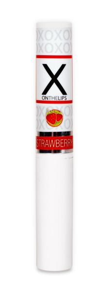 X On The Lips Strawberry Lip Balm