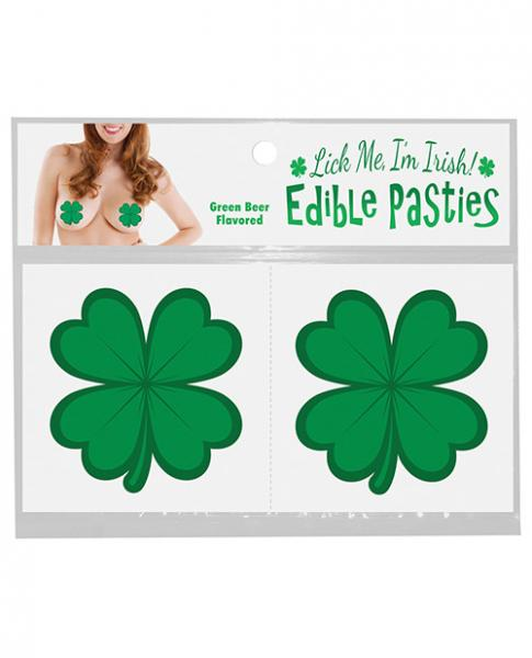 Shamrock Pasties Edible Green Beer Flavored