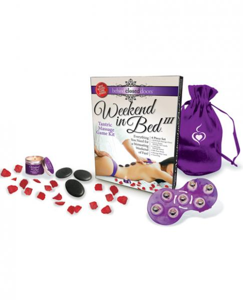 Behind Closed Doors Weekend In Bed III Tantric Massage Kit