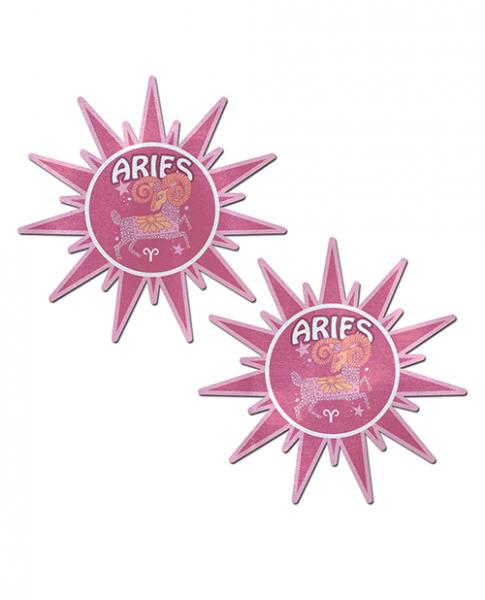 Pastease Astrology Sunburst Aries Pink O/S