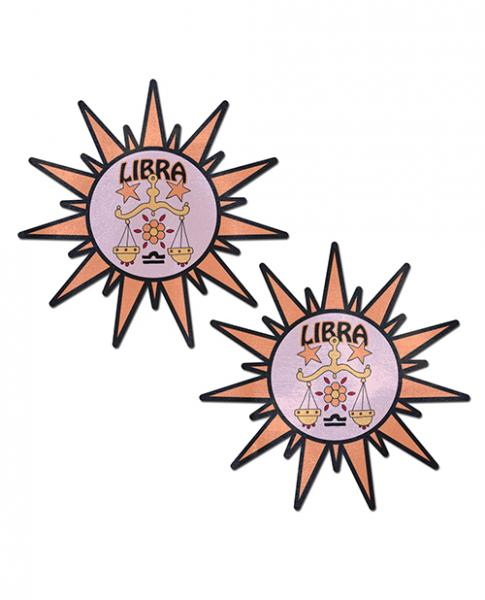 Pastease Astrology Sunburst Libra Pink O/S