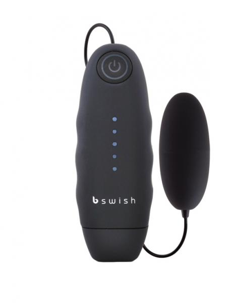 Bnaughty Vibrating Bullet Black