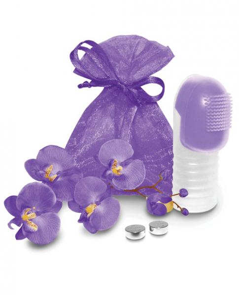 Fuzu Fingertip Massager Neon Purple