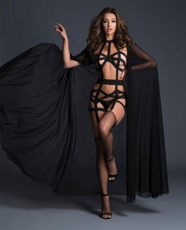Adore Splash Cape Black O/S