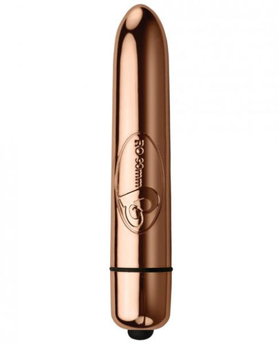 10 Function RO-90 Shoot To Thrill Bullet Vibrator Rose Gold
