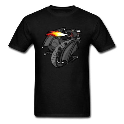 T-Shirt Dragon Braise Noir