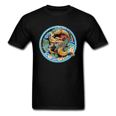 T-Shirt Dragon Léviathan Noir