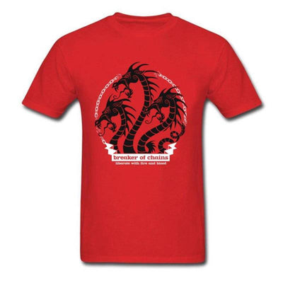T-Shirt Dragon Daenerys Rouge