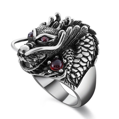 Bague Dragon Asiatique