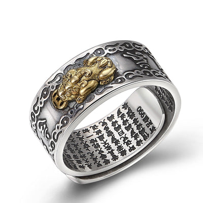 Bague Dragon Buddha