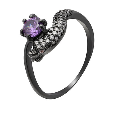 Bague Dragon Strass