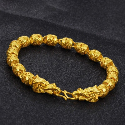 Bracelet Dragon<br> Golden