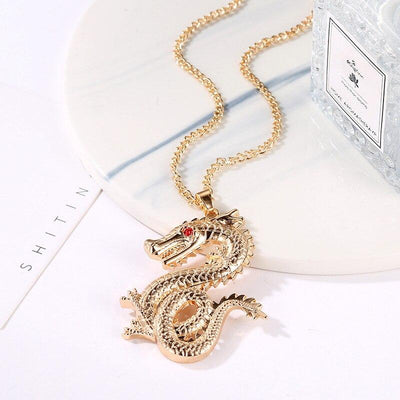 Collier Dragon Léviathan