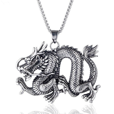 Collier Dragon Asiatique