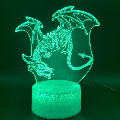 Lampe Dragon LED