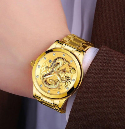 Montre Dragon Gold