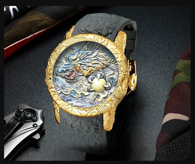Montre Dragon Loup