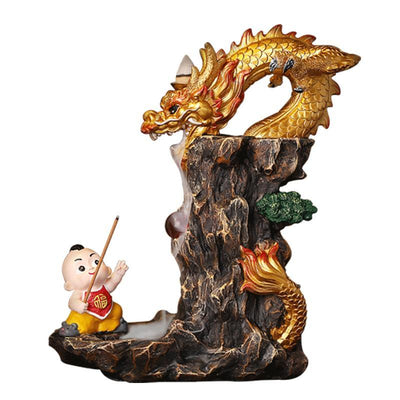 Porte Encens Dragon Enfant