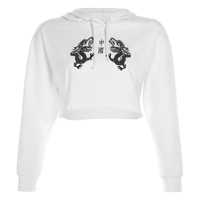 Sweat Dragon Chinois Femme