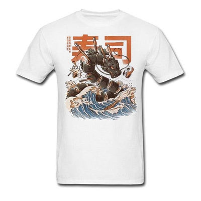 T-Shirt Dragon Sushi Marin