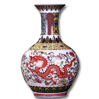 Vase Dragon Sagesse