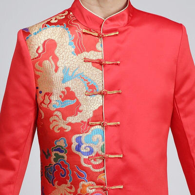 Veste Chinoise Homme Grande Taille