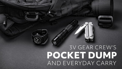 3V Gear Crew's Pocket Dump and EDC