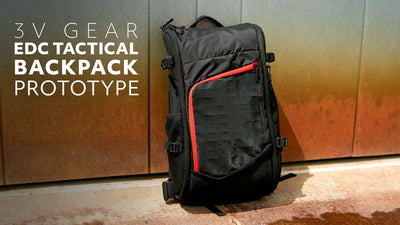 Everyday Carry Tactical Backpack Prototype