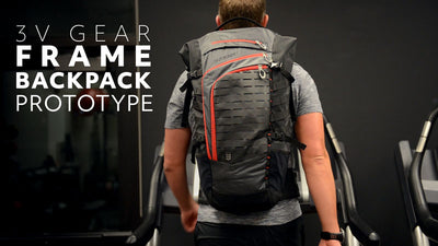 New Frame Backpack Prototype