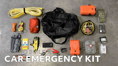 How to Build a Car Emergency Kit - Free Checklist