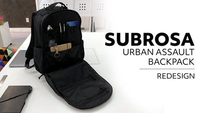 Redesigned Subrosa Urban Assault Pack