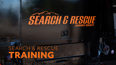 Summit County Search and Rescue Training