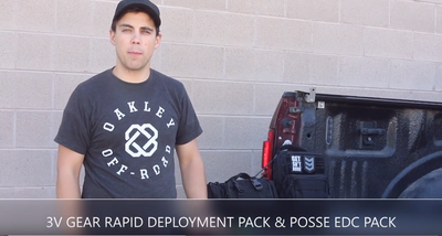 WHAT'S IN YOUR BAG: RAPID DEPLOYMENT PACK & POSSE EDC PACK