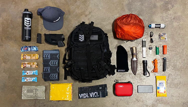 3v gear velox go bag loadout